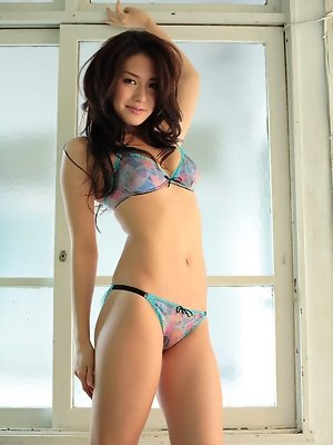 Gorgeous asian idol is to...